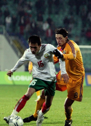 България - Румъния  -  1:0