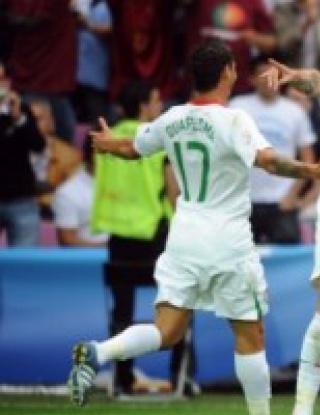 Португалия е на 1/4-финал след 3:1 над Чехия
