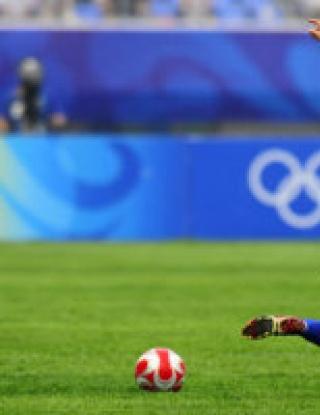Олимпиадата започна с футбол