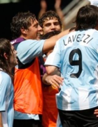 Аржентина отново покори Олимп