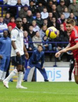 Ливърпул отново начело след успех срещу Болтън
