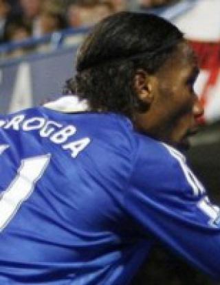 Дрогба изгоря за три мача, пропуска дербито с Арсенал