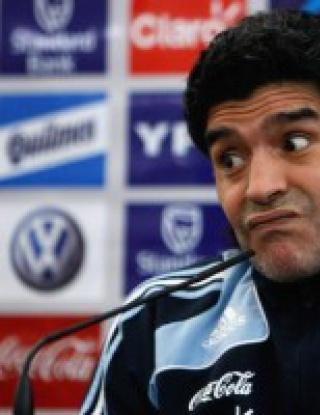 Марадона дава пълна свобода на Меси