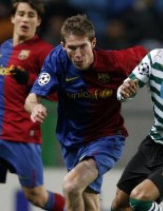 Спортинг Лисабон - Барселона - 2:5 (видео)