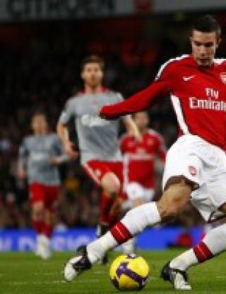 Арсенал - Ливърпул - 1:1 (видео)