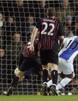 Манчестър Сити навакса два гола за две минути срещу Блекбърн