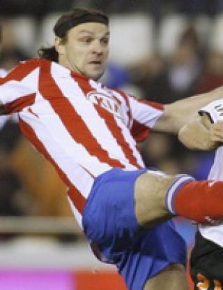 С два гола на Давид Силва Валенсия победи Атлетико Мадрид