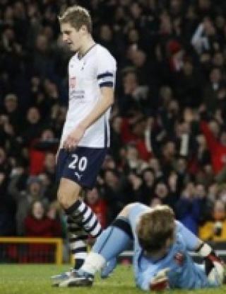 ФА Къп: Манчестър Юнайтед - Тотнъм - 2:1 (видео)