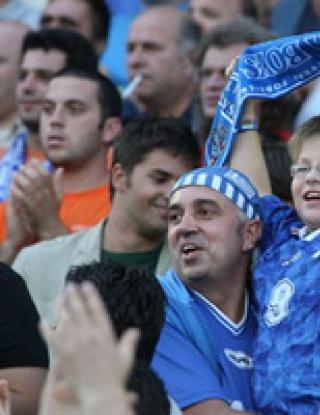 Хиляда гледаха нулев Левски срещу Видима