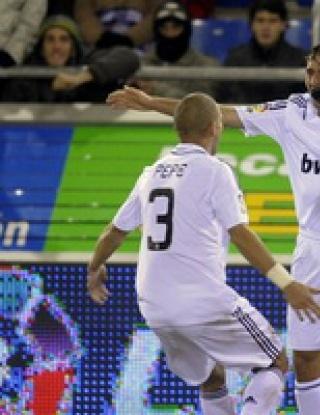 Раул с рекорд, Реал втори