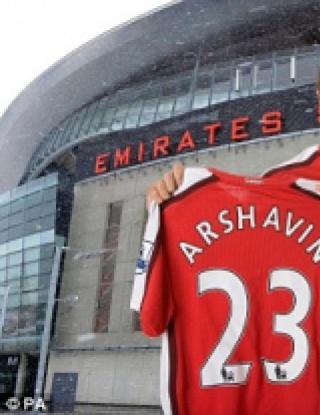 Андрей Аршавин подписал в 18:58 часа
