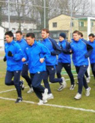 Черноморец с първа тренировка в Германия