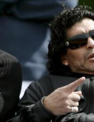 Затвор грози Марадона, заради пътна катастрофа