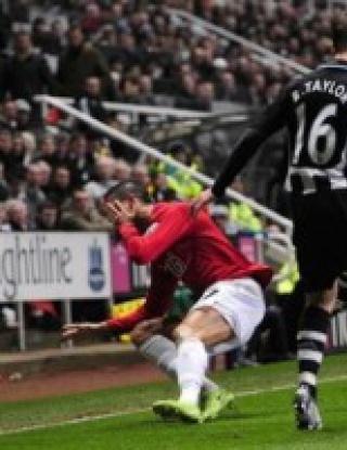 Нюкасъл - Манчестър Юнайтед - 1:2 (видео)