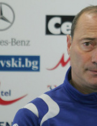 Велев: Надявам се да сме водачи и след мача с Черно море