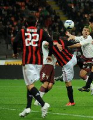 Милан - Торино 5:1 (видео)