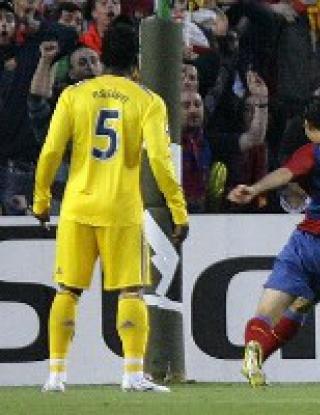 Барселона - Челси - 0:0 (видео)