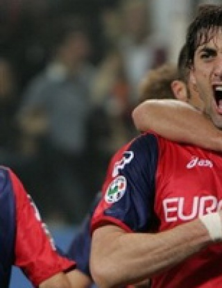 Хеттрик на Диего Милито прекърши Сампдория в дербито на Генуа
