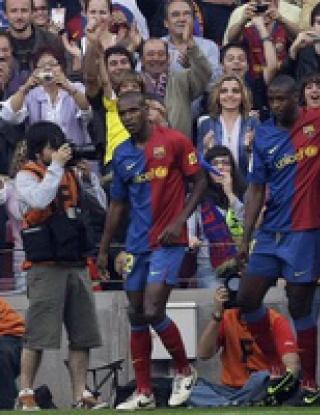 Виляреал развали празника на Барса, каталунците пропиляха два гола аванс
