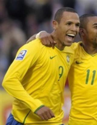 Бразилия излезе начело в Южна Америка след фиеста в Уругвай
