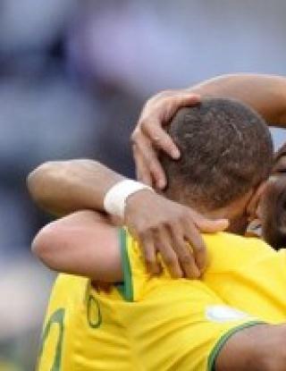 """Бразилия се измъчи с \""""фараоните\"""", бие с дузпа в 90-а минута"""
