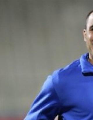 Канаваро на линия за мача с Египет