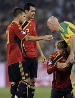 Купа на Конфедерациите: Испания - ЮАР - 2:0 (видео)
