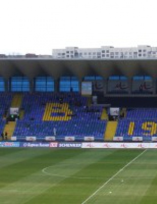 "Вратите на стадион \""Георги Аспарухов\"" отварят в 18:00 часа"