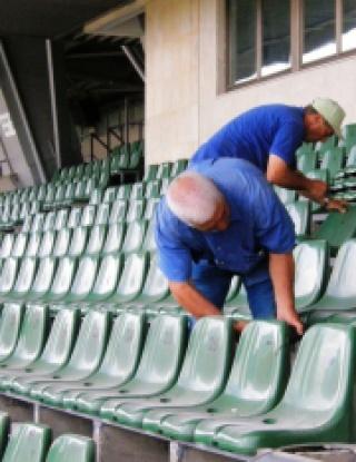 """Италианци правят тестове на стадион \""""Лазур\"""""""