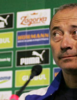 Кокала иска 200 хиляди обезщетение, Левски без треньор за Баку