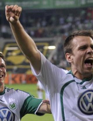 Волфсбург започна новия сезон с 2:0 над Щутгарт