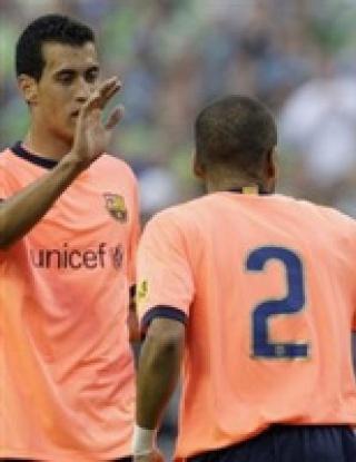 Барселона не успя да победи Чивас в контрола