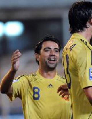 Македония - Испания - 2:3 (видео)