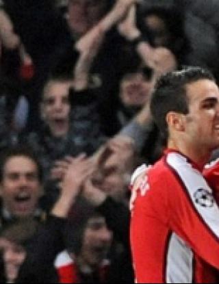 Арсенал - Стандарт Лиеж - 2:0 (видео)