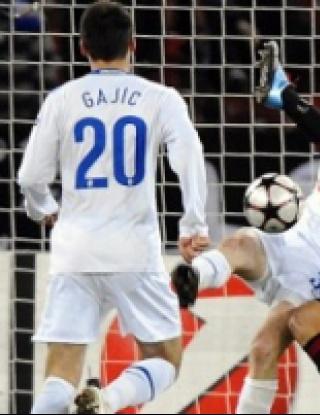 Цюрих - Милан - 1:1 (видео)