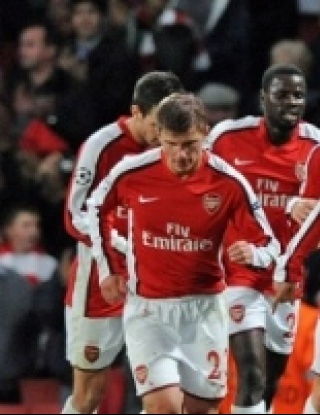 Арсенал - Евертън - 2:2 (видео)