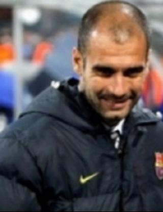 """Пеп коментира Реал, четка Валенсия и пак \""""захапа\"""" съдията"""