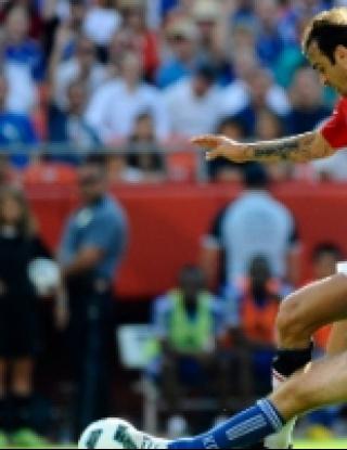 Берба пак вкара, но Юнайтед загуби от Канзас (видео)