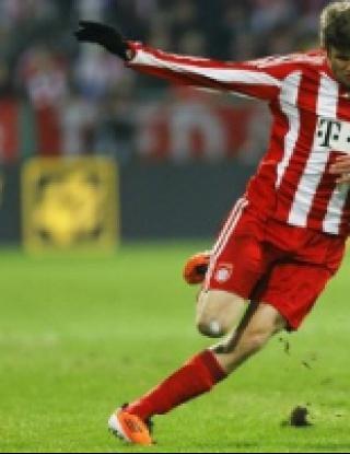 Байерн с лекота на 1/2-финал в Купата на Германия