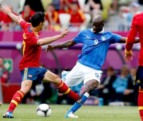 Ако Италия поведе, испанците ще бъдат в сериозна беда