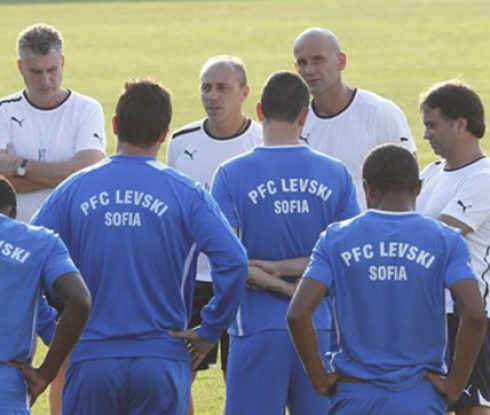 Илиан Илиев отмени тренировката на Левски