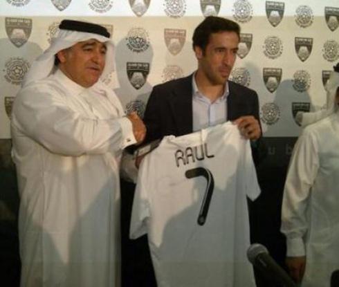 Срещу 1 гол Раул получи камила в Катар