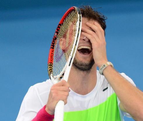 Григор Димитров отпадна в първия кръг на турнира в Сидни