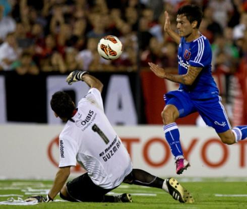 Универсидад де Чили поведе в групата си в Копа Либертадорес