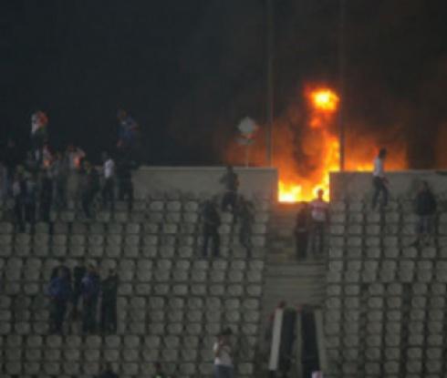 Подпалиха футболната централа в Египет