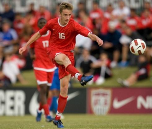 Вилиян Бижев игра цял мач за втория отбор на Ливърпул