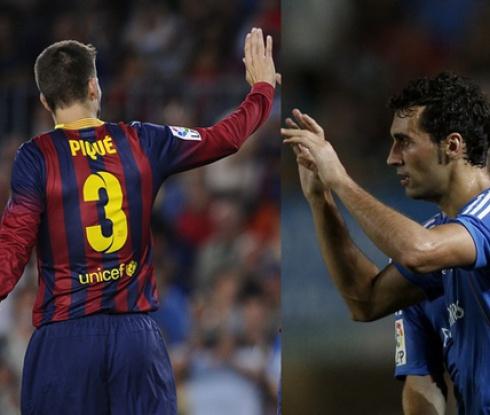 Пике атакува Реал Мадрид, Арбелоа с мълниеносна контра