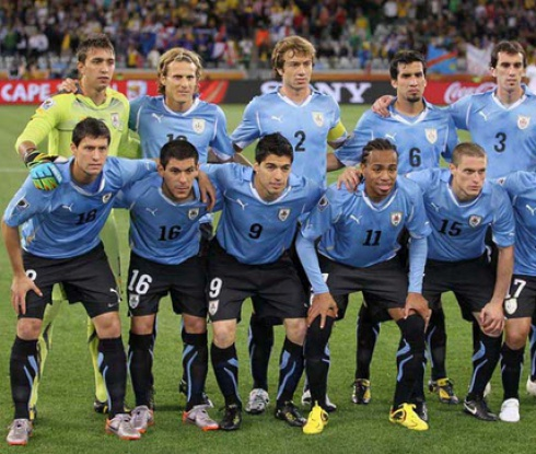 Съставът на Уругвай за Световното първенство
