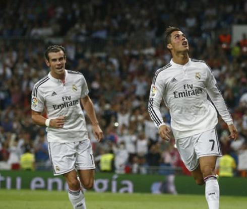 Измислена дузпа тласна Реал към изразителен успех срещу Елче, CR7 заби 4 гола (видео)