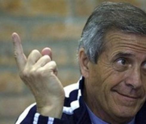 Табарес подписа нов договор с Уругвай